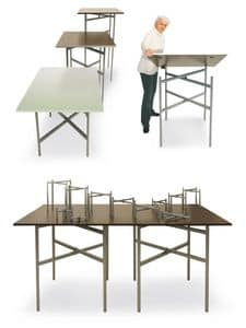 BuffetCube - Buffet, Folding table for buffets and catering, customizable