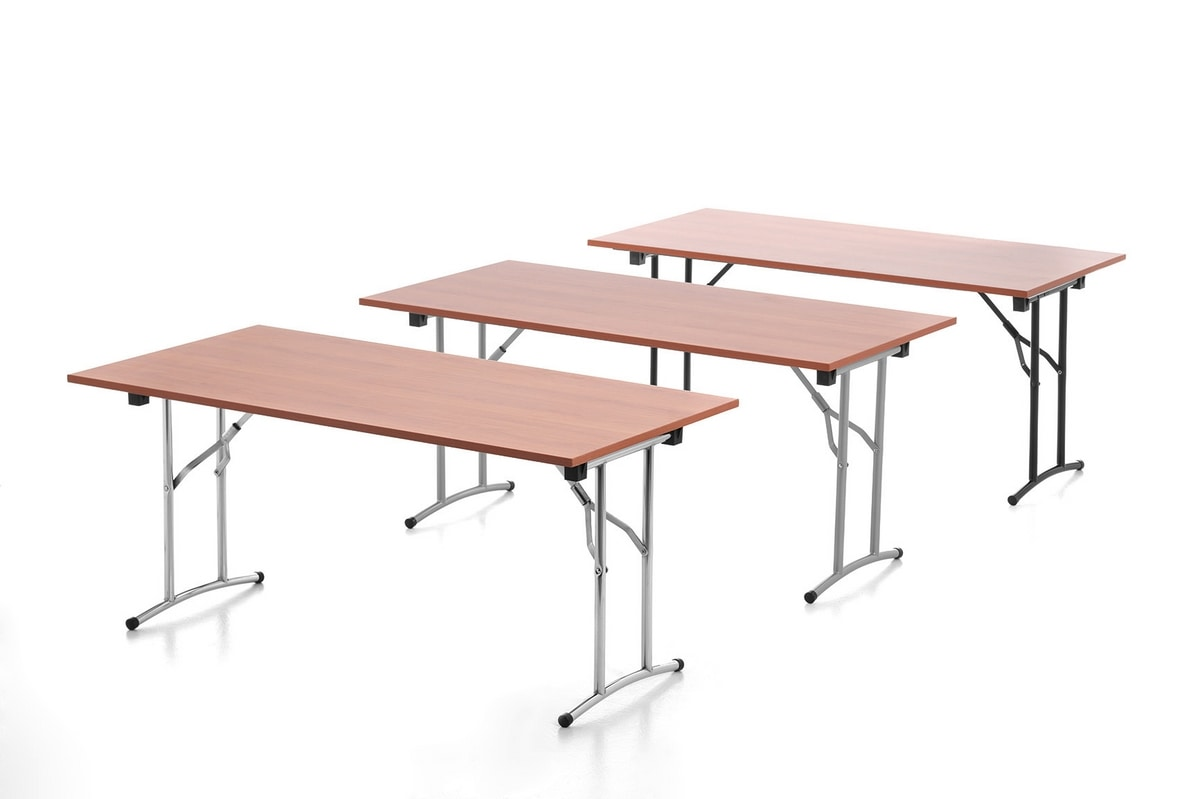 Flatty, Foldable, practical and multi-purpose office table