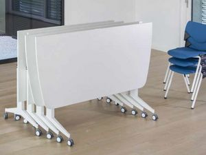 Jimmy, Modular folding table, on castors