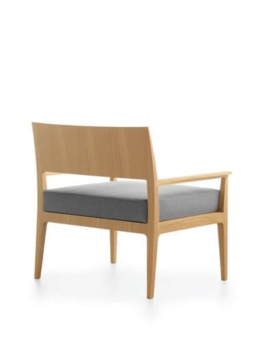 Anna XXL, Upholstered chair with wide seat