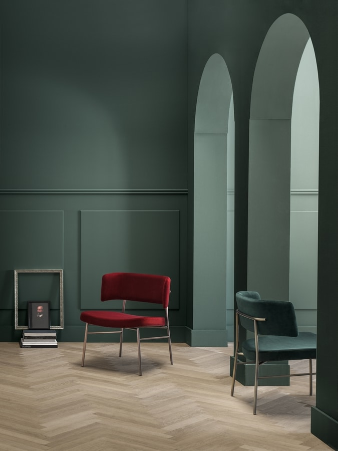 ART. 0162-MET-IM-LOUNGE MARLEN, Comfortable lounge chair