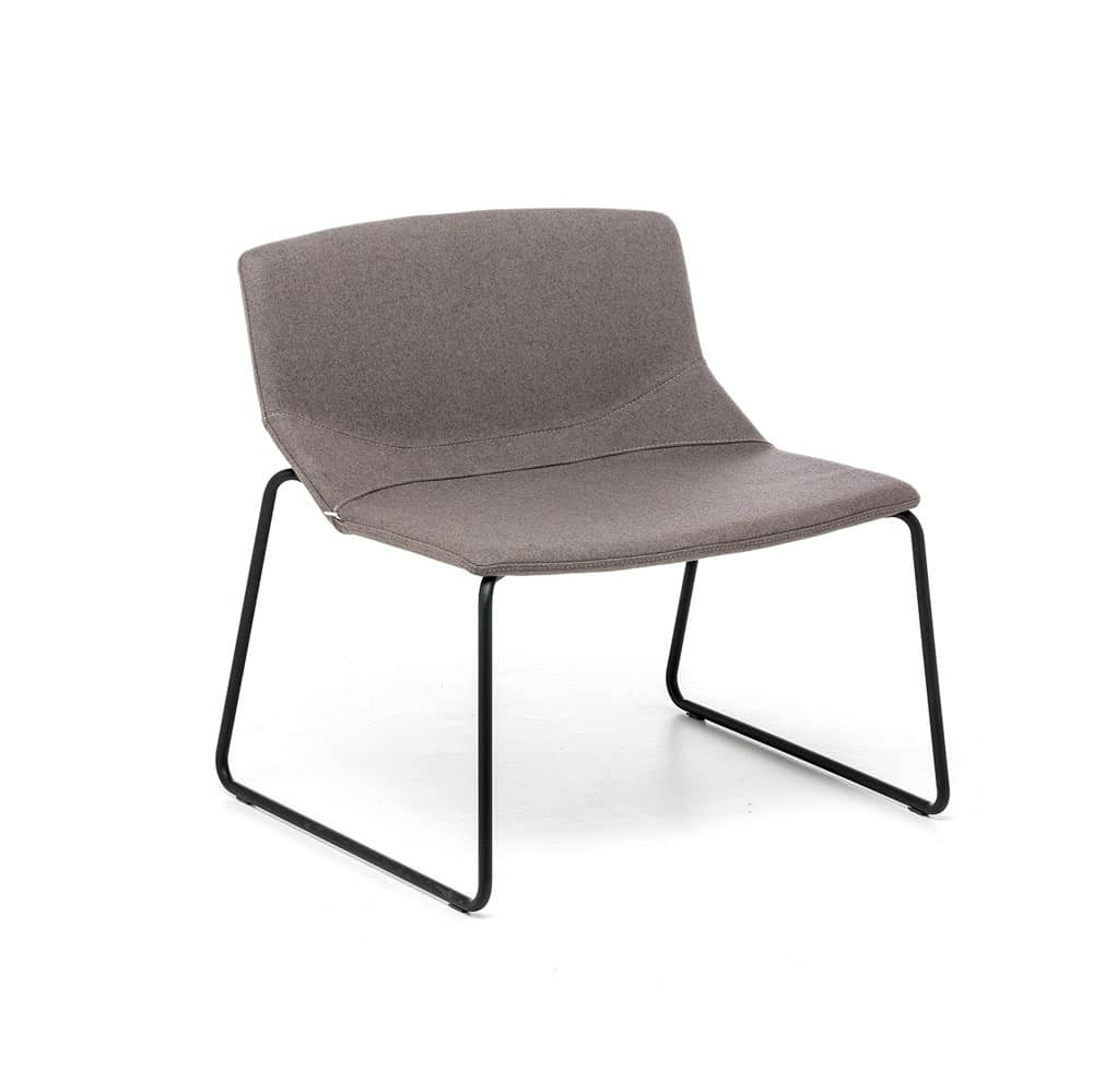 Formula Slim LO, Lounge chair with sled base