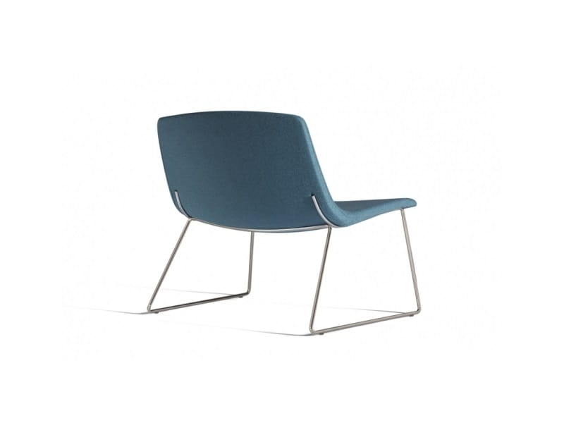Ics 507PTN, Lounge chair with sled base