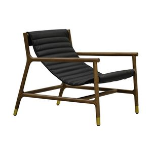 Joyce 3814/F, Lounge chair with leather seat