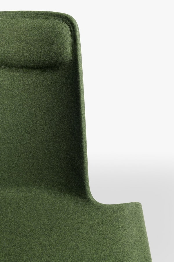 Land lounge mod. 1150-00, Padded lounge chair
