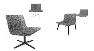 Lauryn, Lounge chair inspired by cubism