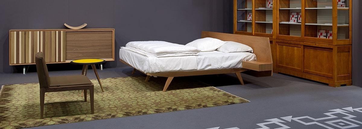 Malibù 3802/F, Wooden lounge chair