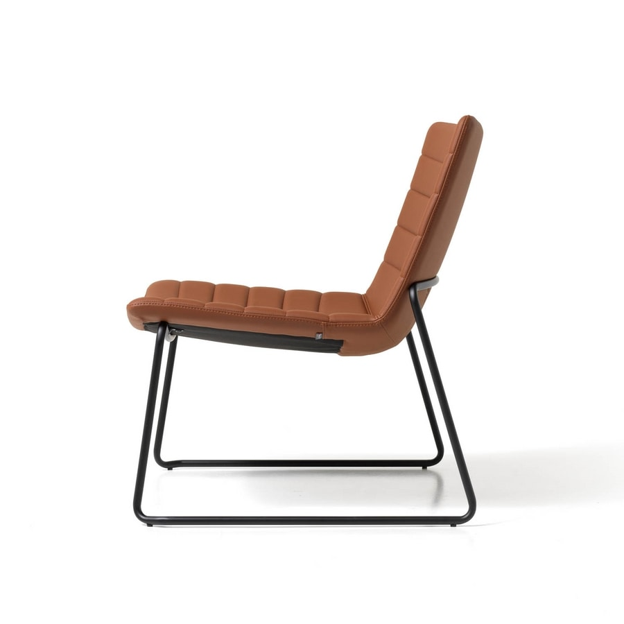 Miss lounge, Chairs with wide seat, for Lounge area
