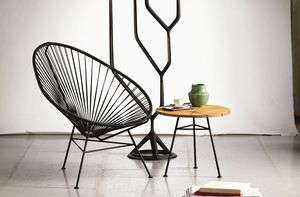 Panama, Lounge chair in black rope