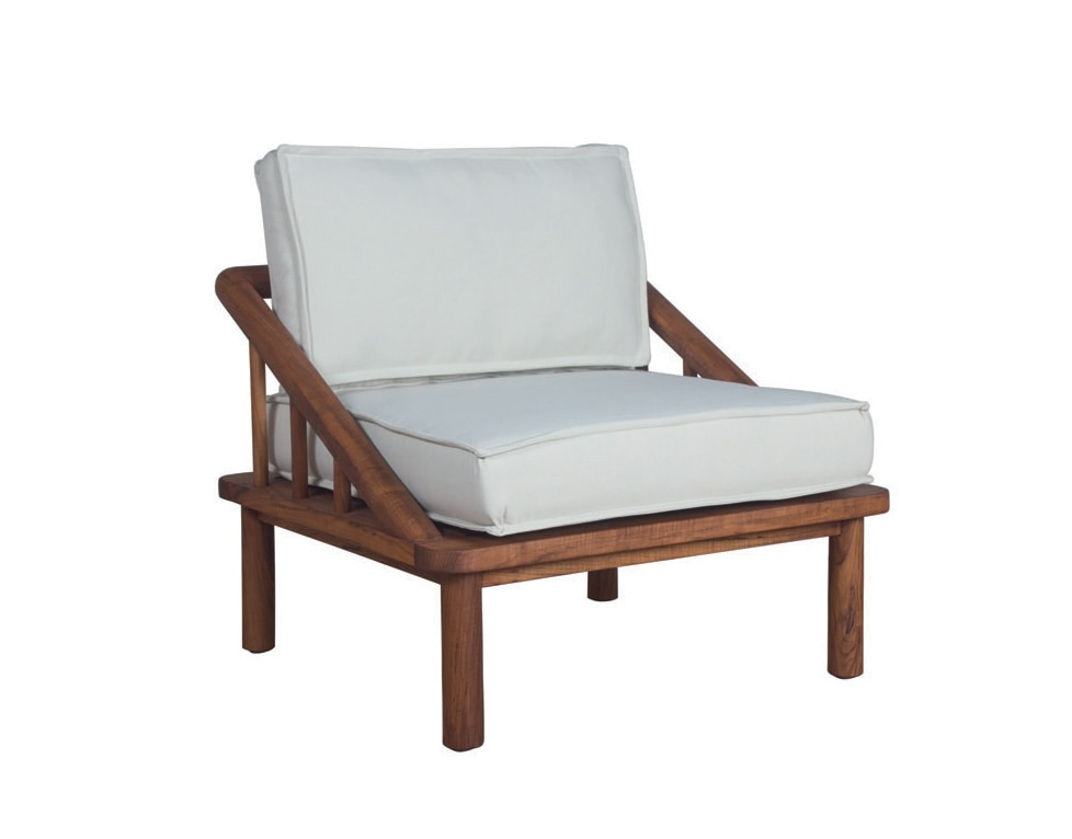 Ring 0284, Lounge chair with cushions