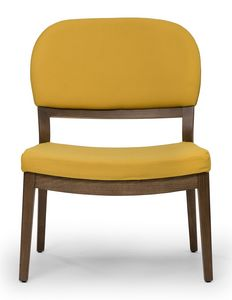 Tosca lounge, Low chair with large seat