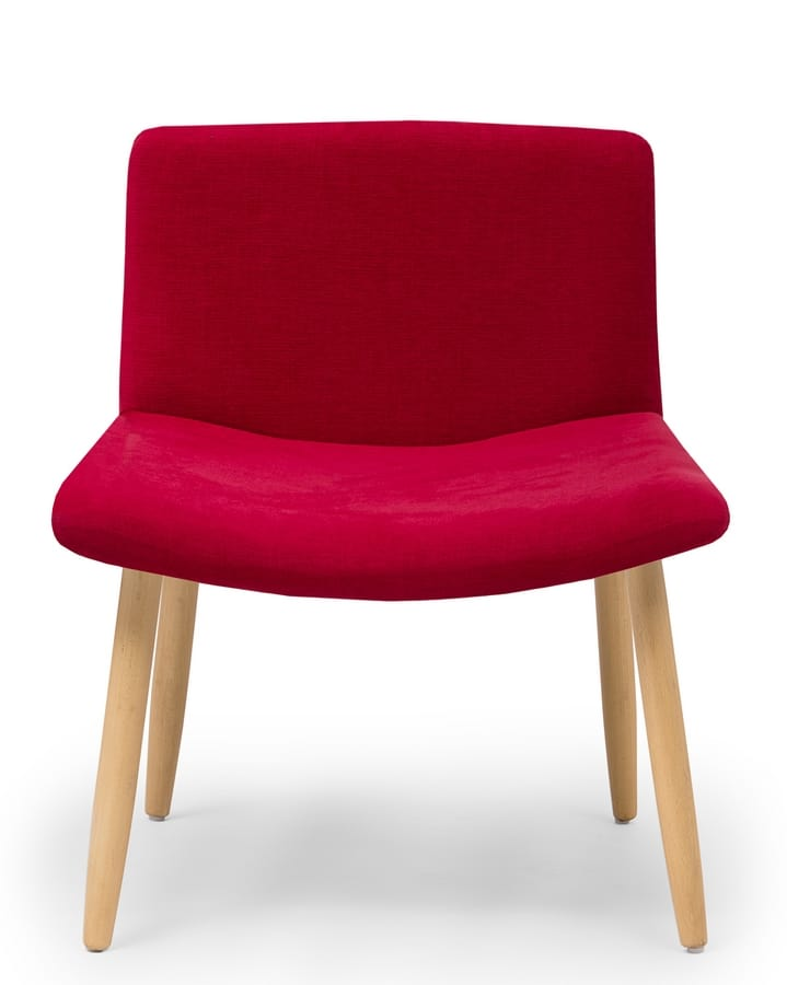 Web Lounge, Upholstered Chair With Wide Seat