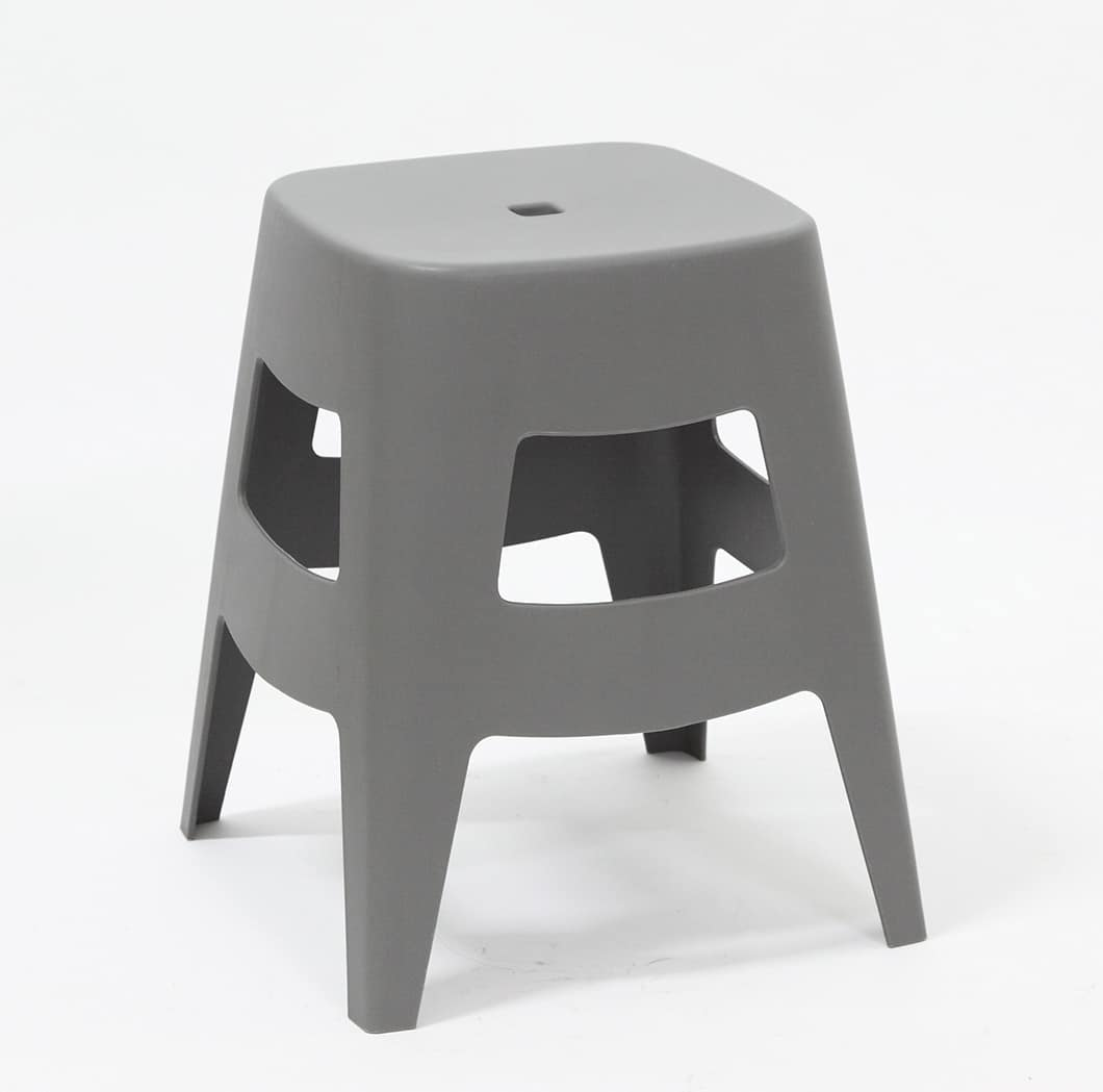 Art. 546 Dolly, Low stool, stackable, made of polypropylene