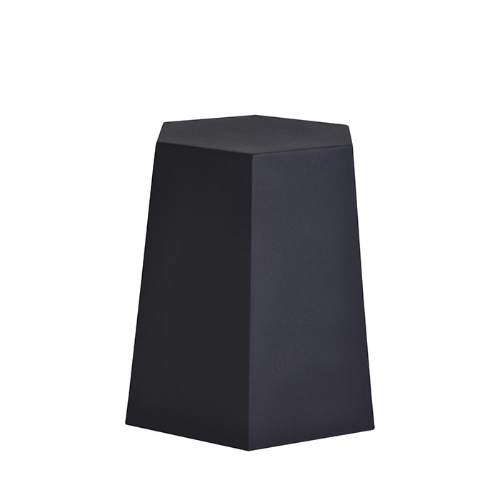 Blade Runner Rock, Pouf in the shape of a hexagonal truncated cone