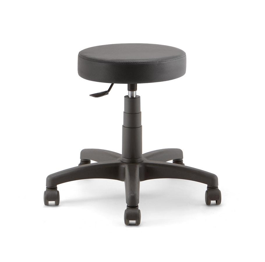Duke Soft 01, Work stool on castors