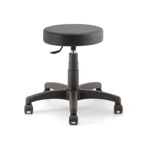 Duke Soft 01, Work stool on castors