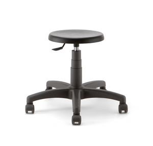 Mea 01, Low stool on castors