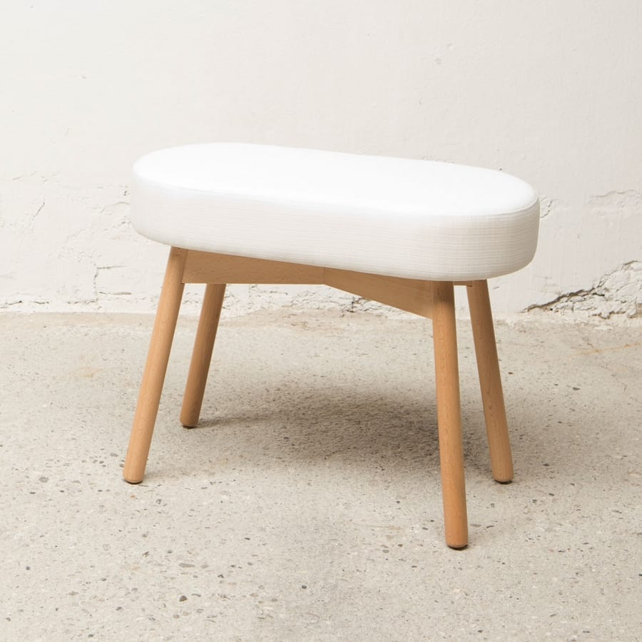 Oval stool  Love, Outlet stool with oval seat