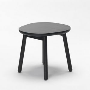 Pebble stool, Low wooden stool