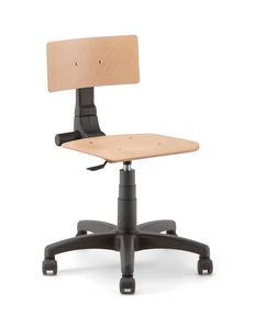 Rumba 01, Work stool on castors