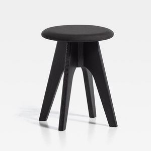 Tommy H45, Low stool, with upholstered seat