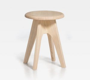 Tommy H45, Low stool, with round seat