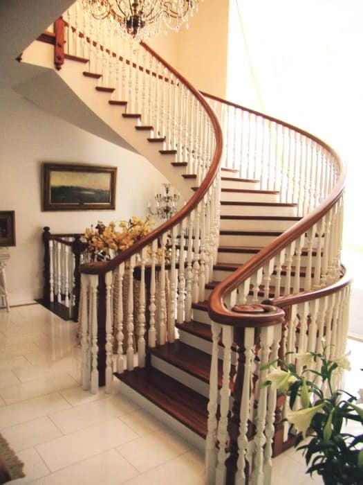 Day staircases, Staircases in classic style for stylish hotels
