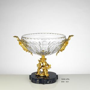 LAPIS, Luxurious decorative object with lapis lazuli
