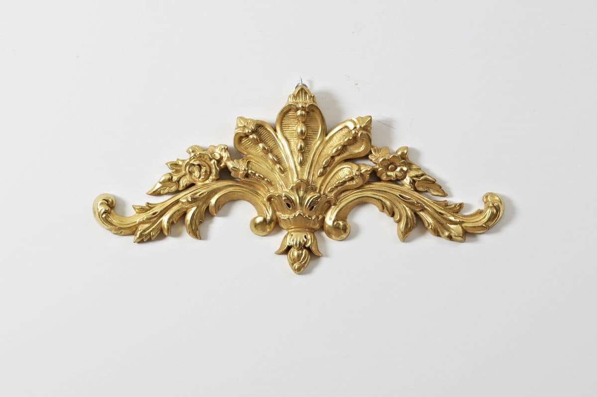 LITTLE FRIEZE ART. AC 0013, Frieze wood with floral motifs, for luxury hotels
