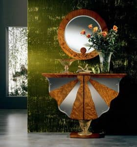 MB23 Ali di farfalla, Container cabinet, classic, wooden, for Hotel