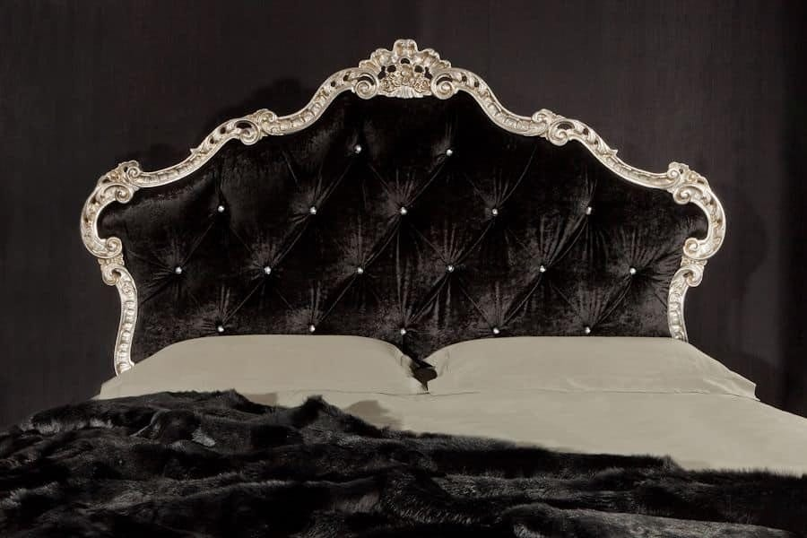 Valeria, Padded luxury bed with quilted headboard