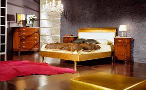 80-16 bed, Gold leaf bed