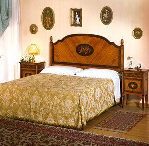 Art. 800 Musica, Maggiolini style classical bed