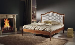 Three arches bed, Classic bed, outlet price