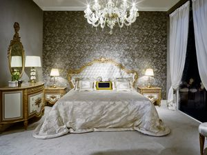 Bed 3700 Louis XVI style, Louis XVI style luxury bed
