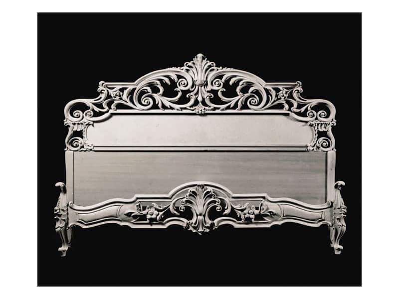 Bed art. 68, Double bed, Venetian baroque style