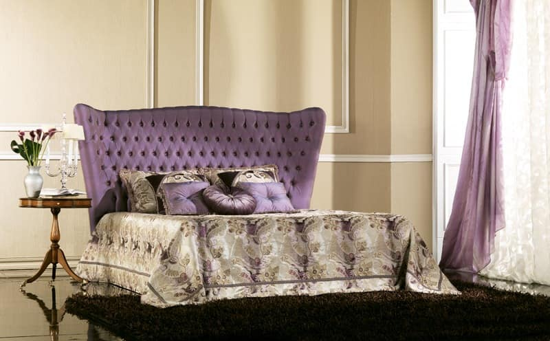 Bernini, Beds in painted wood Luxury classic bedroom