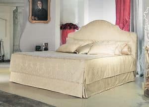 Betty, Classic bed, padded headboard, to luxury hotel