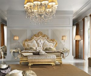 Diamante Art. 2101, Bed with gorgeous carvings