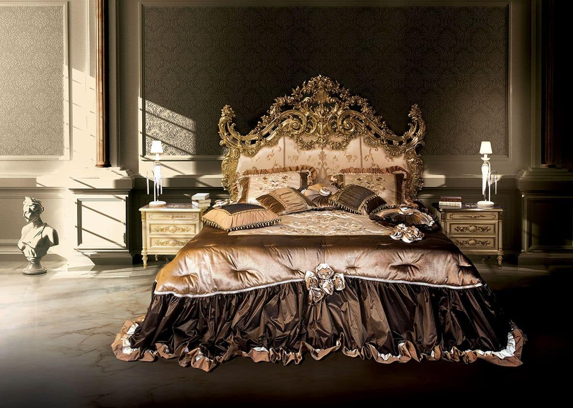 F120/B, Double bed, Versailles style
