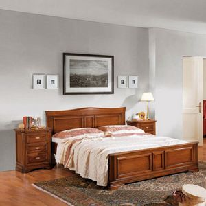 La Maison MAISON624T, Double bed with shaped headboard