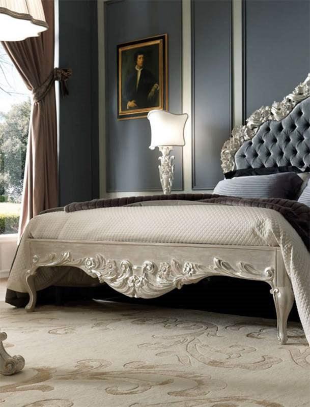 Luigi XVI Art. TES03, Bed with tufted headboard