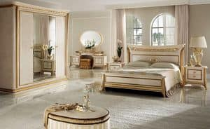 Melodia bedroom 1, Classic luxury bedroom, for villas and hotels