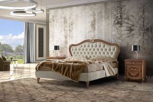 Prestige 2 Art. 4332, Bed with tufted headboard