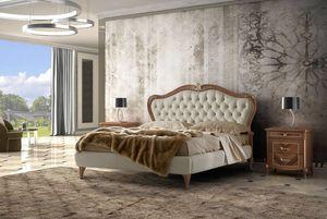 Prestige 2 Art. 4332, Bed with tufted headboard