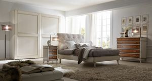 Senza Tempo letto, Bed for classic style bedrooms