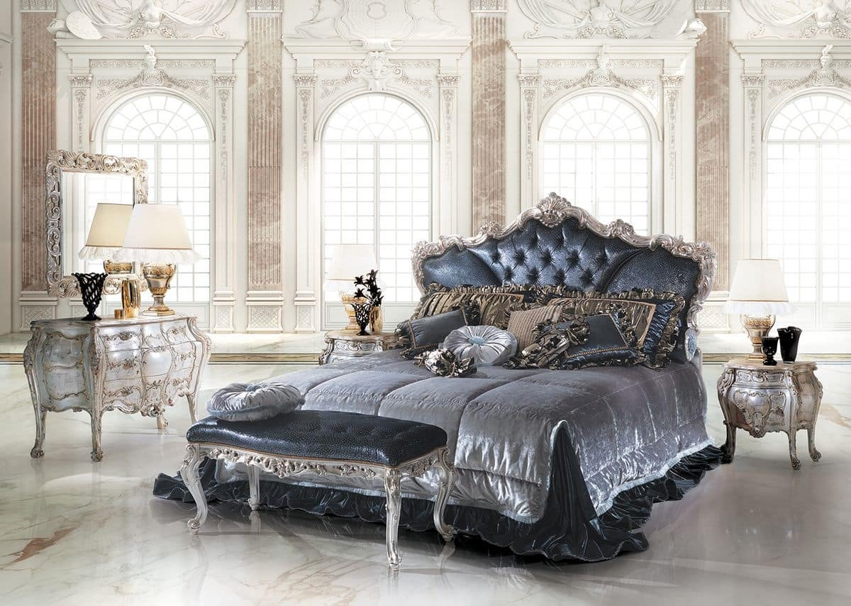 los angeles 69ff1 54dd0 Bed with upholstered headboard, for bedroom luxury | IDFdesign