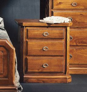 '800 nightstand, Bedside table for classic style bedrooms