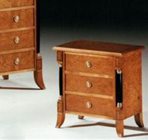 2460 nightstand, Empire style bedside table, for classic rooms