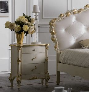 Art. 0190, Nightstand for classic style bedrooms